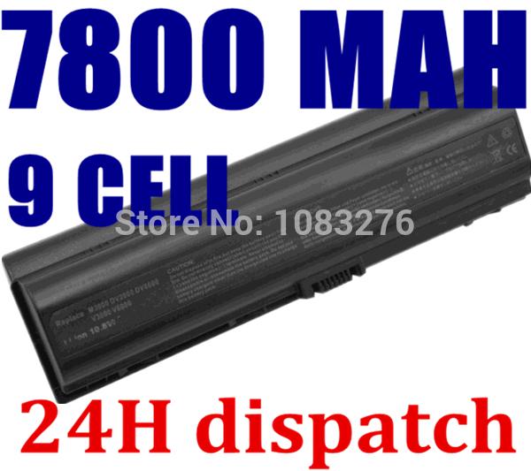 7800mAH laptop battery for HP Pavilion DV2000 DV2100 DV2200 DV2700 DV2800 DV2900 DV6000 DV6300 DV6700 HSTNN-DB42 HSTNN-LB42(China (Mainland))