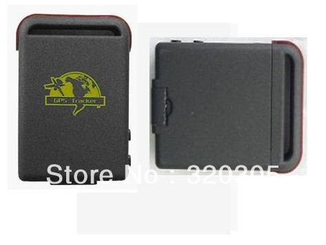 Mini Car/Vehicle GPS Tracker  4 bands GSM GPRS Tracking Device TK102  With Retail Package Free Shipping