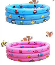 150×30 Portable Outdoor Children Basin Bathtub Sea Animal Toys For Newborn Kids Trinuclear Inflatable Pool Baby Swimming Pools