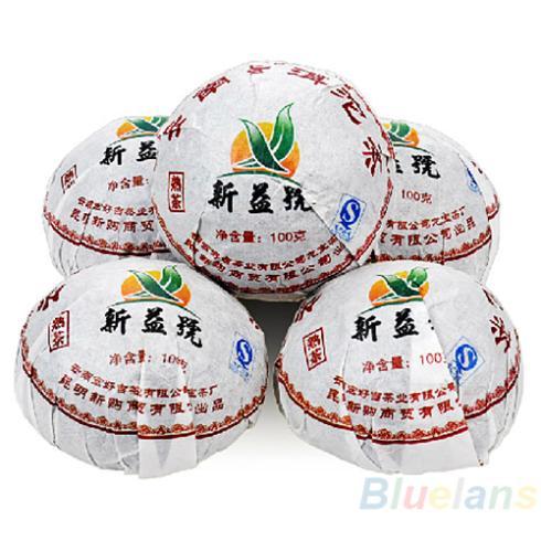 Xin Yi Hao Menghai Tuo Cha Puer Tea 100g Ripe 028A 3HP7