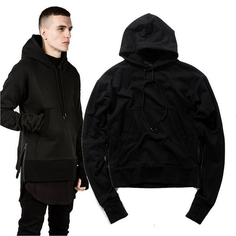 Mens All Black Hoodie - Hardon Clothes