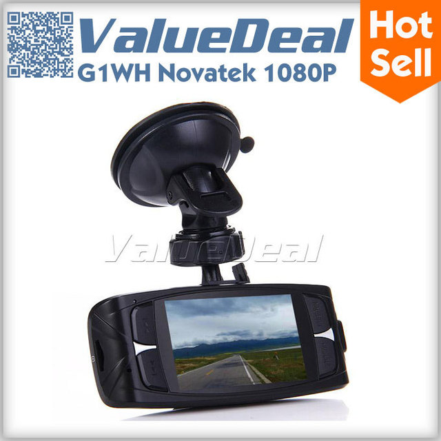 In Stock G1WH Car DVR Recorder Camera Original Novatek 1080P Full HD 2.7 inch LCD Wide Angle with LCD G-Sensor HDMI AV Out