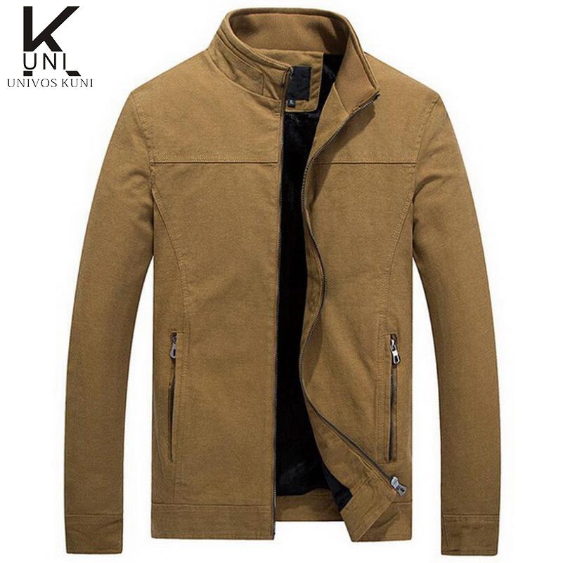 2016 New Fashion Brand Men Winter Jacket Slim Fit Mens Solid Designer Clothes Men Cotton Casual Jacket Water Washing XXL F1034(China (Mainland))