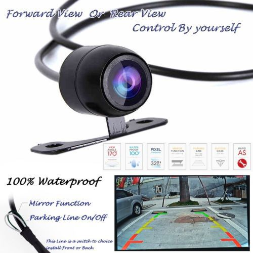 Гаджет  Free shipping Car Rear / Forward View CCD 170degree angle vision Backup Side Parking Front Camera car rear view camera None Автомобили и Мотоциклы