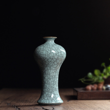 Special Price Tea Beauty New Arrival Traditional Chinese Longquan Celadon Tabletop Vase for Home Decroation Plum Bottle (China (Mainland))