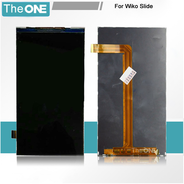 Free DHL 100% Working Inner LCD Display Screen for Wiko Slide Cell Phone Replacement + Tracking Number(China (Mainland))