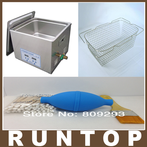 Free shipping 6.5L 150W Digital Medical Equipment Electronic Component Ultrasonic Cleaner JP-031s with 1 Free Basket(China (Mainland))