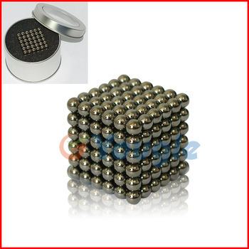 216 pcs D 3mm Silver The Neocube neodymium Toy Neo Cubes Puzzle Cube Toy Sphere Magnet Magnetic Bucky Balls Buckyballs Dark Gray