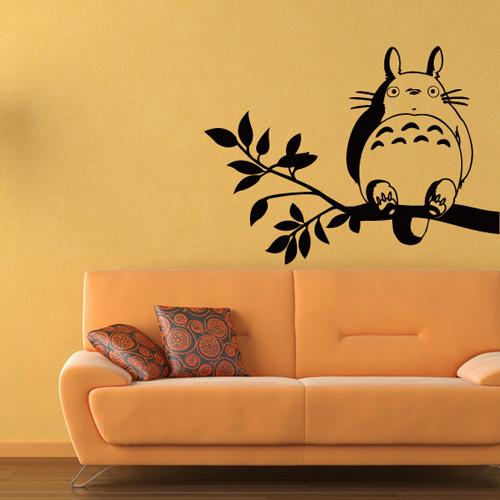 animated cartoon wall stickers my neighbor totoro hayao miyazaki