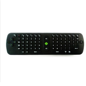 10pcs/lot air mouse RC11 English Language QWERTY keyaboard Wireless Keyboard handheld remote control Air Mouse forTV BOX PC(China (Mainland))