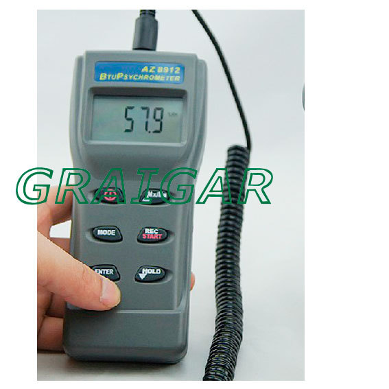 AZ8912 Observing the anemometer / Environmental Testers / temperature and humidity tester<br><br>Aliexpress