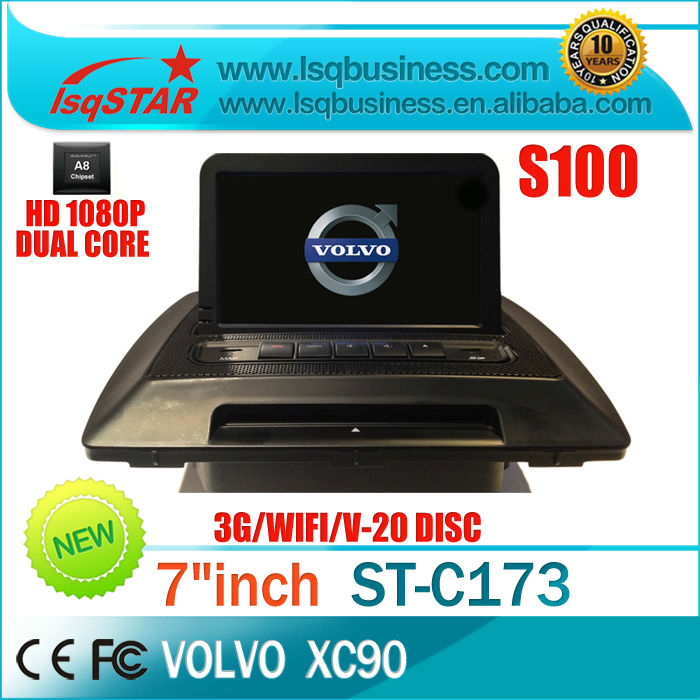 S100 platform Car DVD Gps for volvo xc90 with touch screen Dual Core Cpu 20 CDC  EMS free shipping to South East Asia<br><br>Aliexpress
