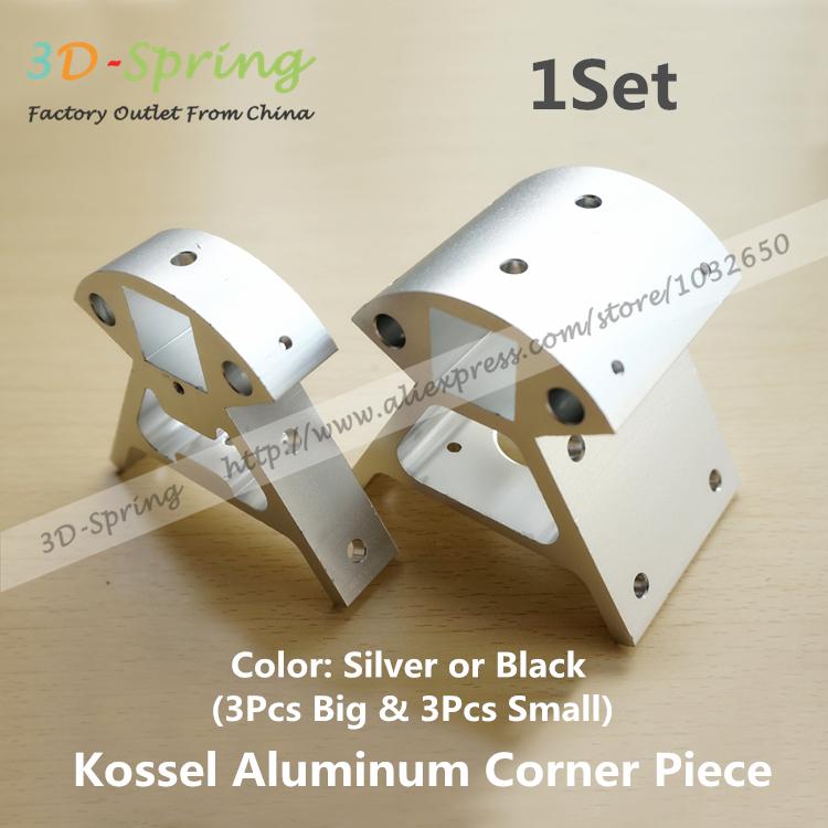 3D Printer Accessories Full Metal Kossel Aluminum Alloy Delta Big And Small Corner Pieces Aluminum Alloy Base<br><br>Aliexpress