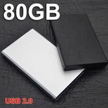 2015 Metal Sleek disque dur laptop external hard drive 80gb disco duro hd externo other item 1TB / 500gb /40GB /60/120/160/320GB(China (Mainland))