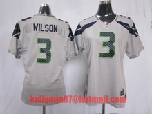 100% Stitiched,Seattle Seahawk,Marshawn Lynch,Richard Sherman,Kam Chancellor,Russell Wilsons,Jimmy Graham,Earl Thomas for women(China (Mainland))