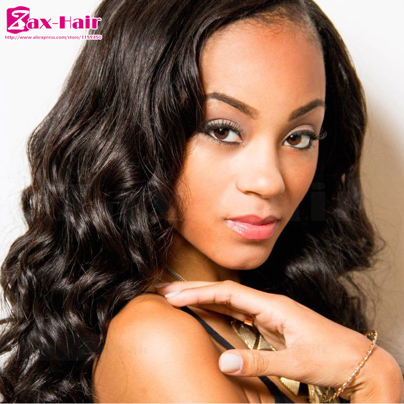 Фотография full lace wig Grade 7a bleached knots baby hair lace front closure peruvian virgin hot sale wavy customized natural hairline