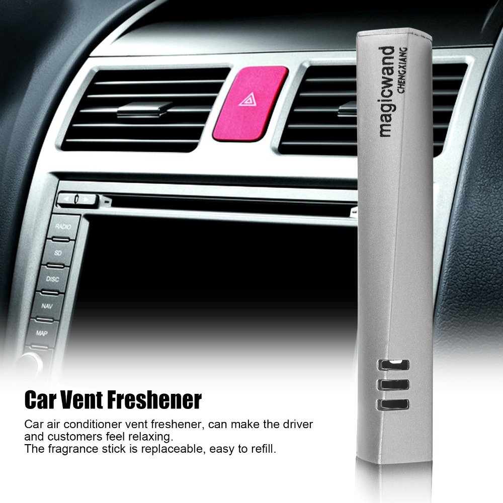 Perfume original car-styling perfumes air freshener with 3 Taste Air Freshener Fragrance Luxury Car Air Conditioning Vent Clip(China (Mainland))