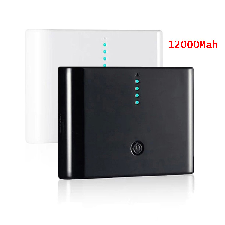 12000MAh Power Bank Power Supply Charger External Backup Battery Powerbank for iphone samsung Nokia With Retail Box