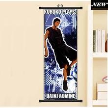 45X125CM Kuroko no Basuke Basketball Kuroko Tetsuya Anime Cartoon scroll wall picture mural poster art cloth canvas painting