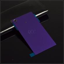 Buy 100% original rear glass back cover Sony xperia z2 L50W D6503 D6502 D6543 rear battery door housing +sticker +1pcs back film for $4.27 in AliExpress store