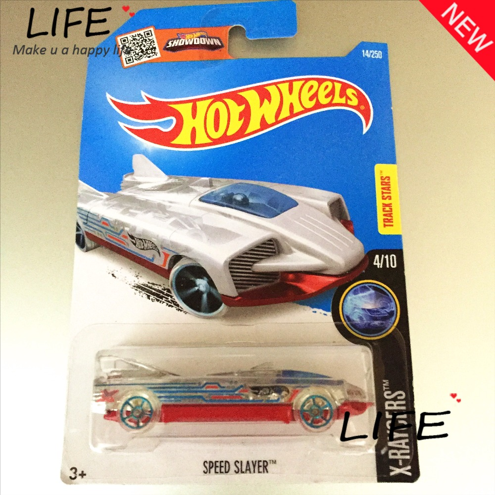 2016 Free Shipping Hot Wheels speed slayer Car Models Metal Diecast Cars Collection Kids Toys Vehicle For Children Juguetes(China (Mainland))