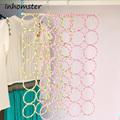 free shipping 2016 Hot 5 sizes hole Ring Shawl Scarf Belt Tie Hangers Slots Holder Hook