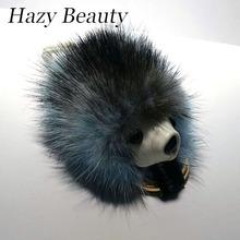 Hazy beauty New fur design women handbag charm super chic monster coin purse easy matching lady shoulder bag parts hot DH427(China (Mainland))