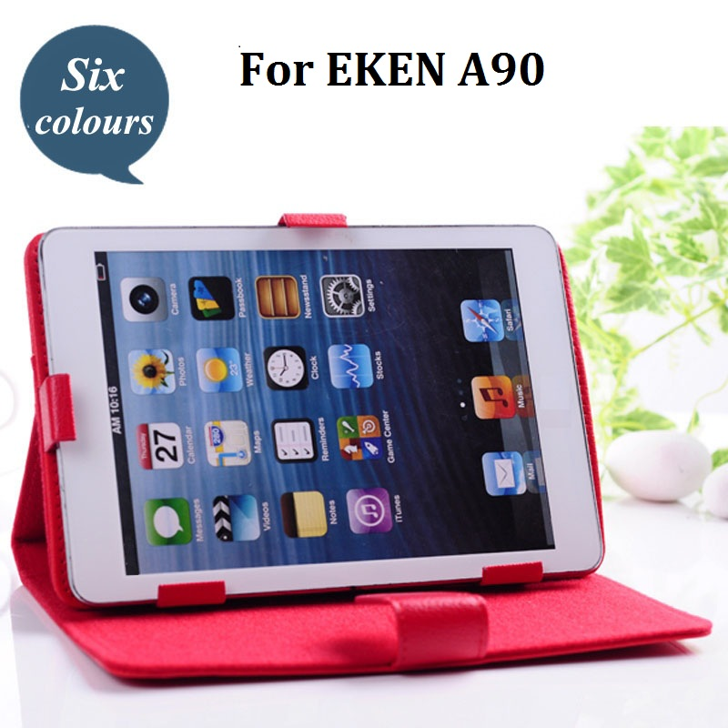 1PC Universal Crystal PU Leather Stand Cover Case For EKEN A90 9.7''Inch Tablet PC(China (Mainland))