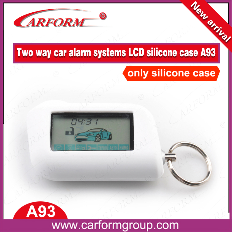 aliexpress directly sale high quality lcd pager silicone case special for A93 A63 two way alarm security system(China (Mainland))