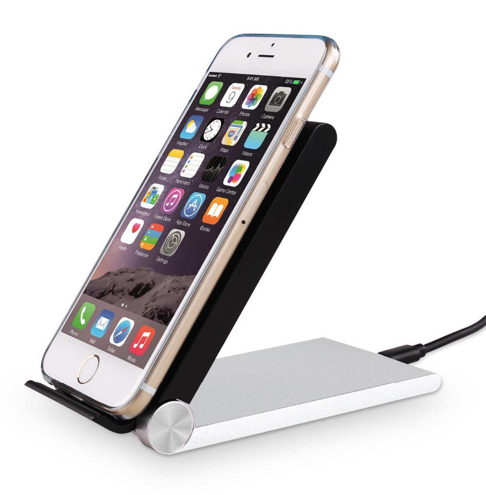 2015 New Qi Wireless Charger Charging Stand Desktop Dock Station for i 6 Samsung Galaxy S6 Edge S5 Note 4 Moto Nexus 6 5 4(China (Mainland))