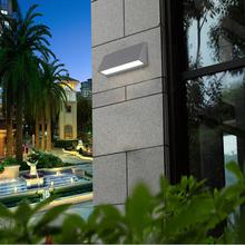 modern waterproof garden led light fixtures exterior surface mounted led light wall scone IP54 aluminum verlichting muurlamp(China (Mainland))