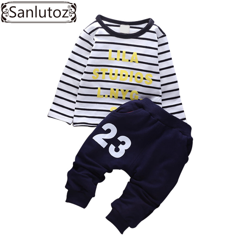 Kids Clothes Children Clothing Sets Boys Sports Suits Sets Baby Toddler Boys Clothing Infant Outfits Winter Cotton Pants Sets(China (Mainland))