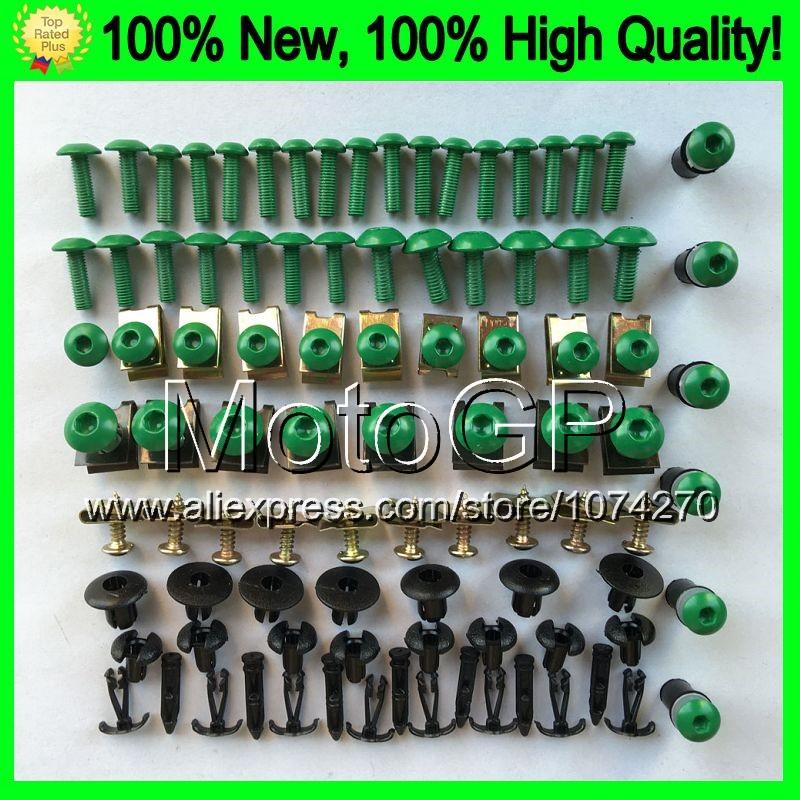 Fairing bolts full screw kit For KAWASAKI NINJA Z1000 10-15 Z 1000 SX Z-1000 Z1000SX 10 11 12 13 14 15 0F184 Nuts bolt screws(China (Mainland))