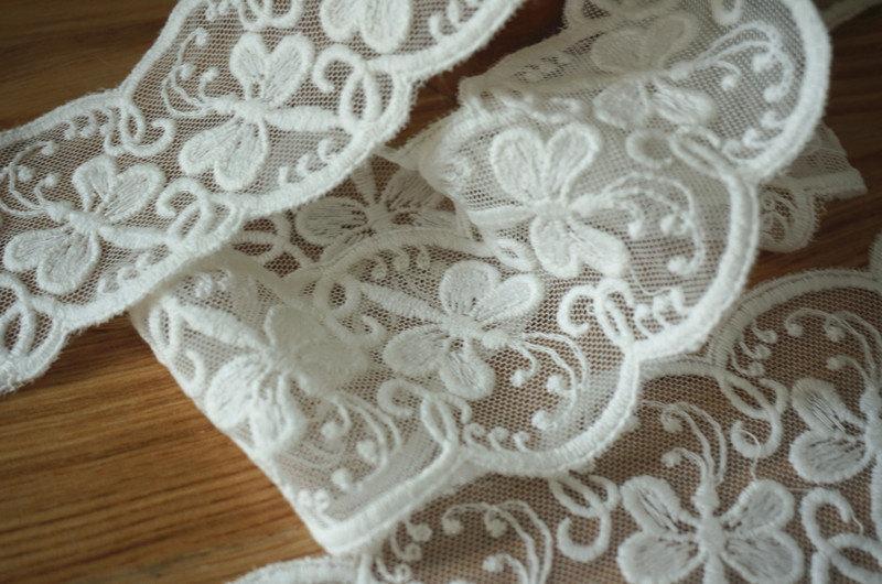Scalloped Lace Trim Wholesale Off White Lace Trim Scalloped