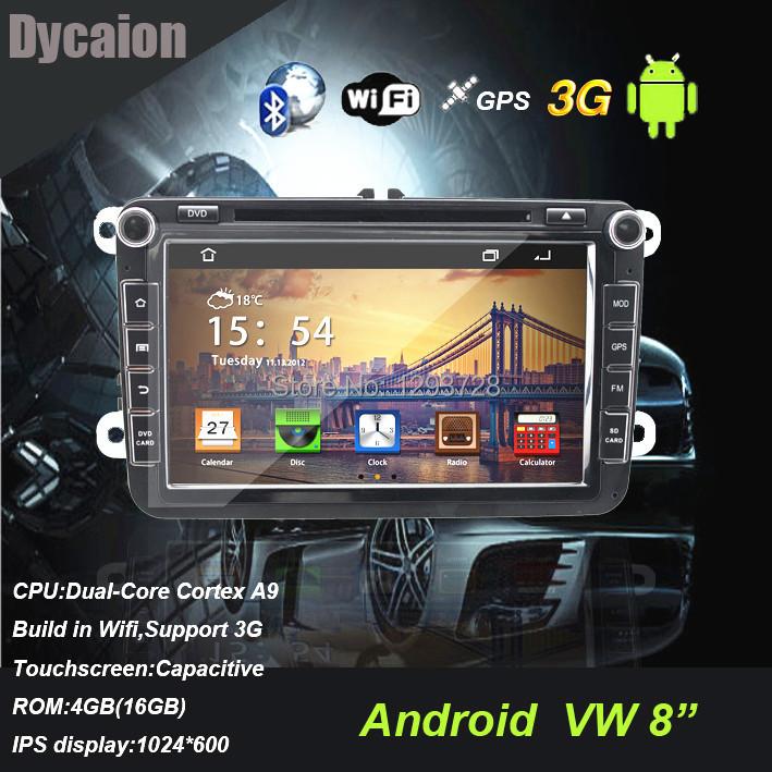 Pur android dvd de voiture vw / voiture radio vw / android voiture radio vw touareg(China (Mainland))