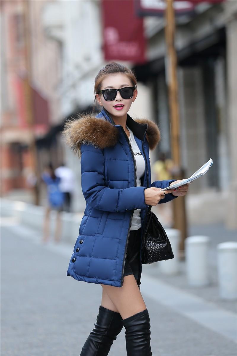Скидки на 2016 Осень Зима Новый Женская Мода пуховик Темперамент Досуга согреться С Капюшоном Большой ярдов Хлопка-ватник Пальто G1119