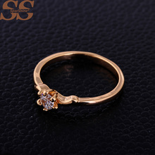 SparShine Rings For Women Aneis Ruby 18k Gold Ring Collares Bijoux Fine Jewelry Anillos Fashion Rings
