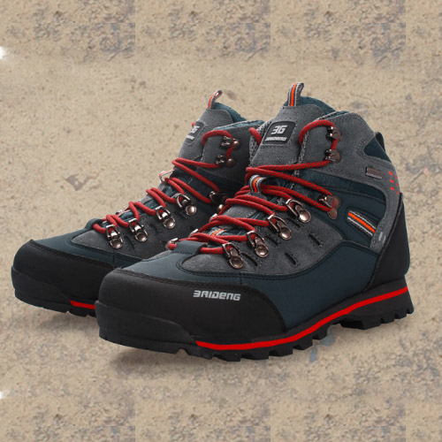 Top selling outdoor sport trekking hiking mountain climbing boots professional athletic waterproof anti-skid breathable shoes(China (Mainland))