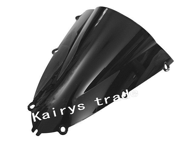 Free Delivery Black Windscreen for YAMAHA R1 98-99 Windshield Motorcycle wind mirror(China (Mainland))