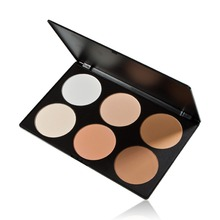 ONLY Professional 6 Color Pressed Powder Palette Nude Makeup Contour Cosmetic