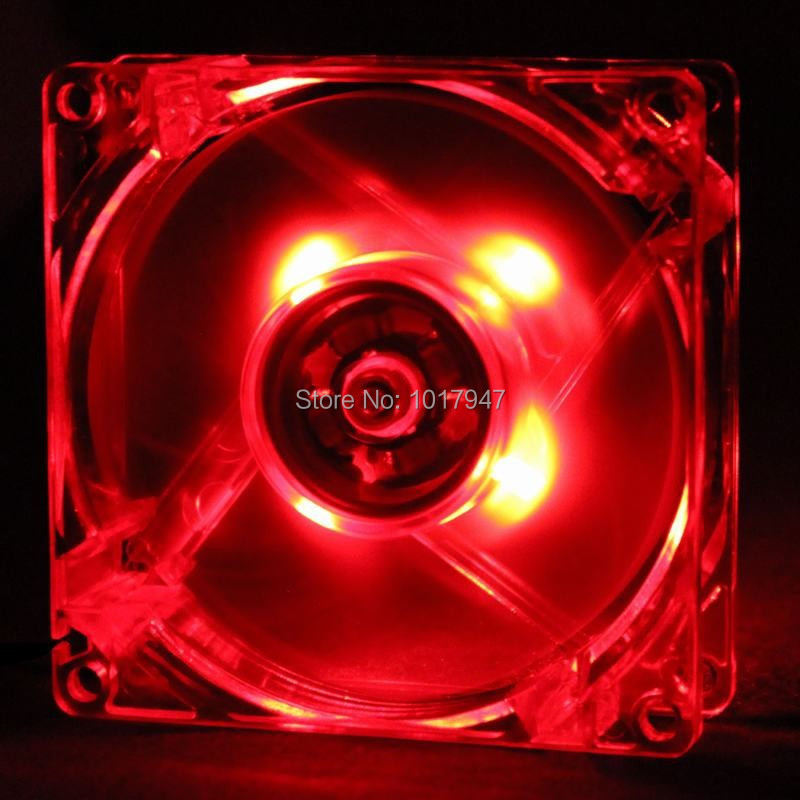 GDT 20pcs/Lot 12025  Red 120mm 12cm 4Pin 12v  120MM*120MM*25MM  Computer PC LED brushless dc fan<br><br>Aliexpress