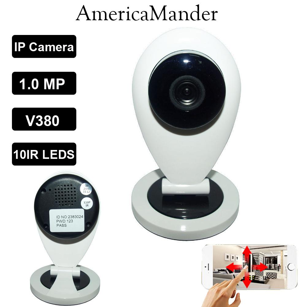 HD H.365 720P Camera IP Wifi Wireless Night Vision Micro Camera CCTV Ant Home Onvif Video Security Surveillance Camera(China (Mainland))