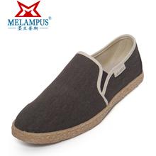 Men pedal canvas shoes canvas shoes single shoes casual linen 2013 light(China (Mainland))