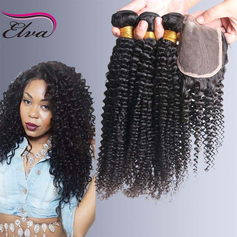 Гаджет  Cheap 6A Malaysian Kinky Curly Hair Bundles With Closure,Unprocess Virgin Hair Malaysian Kinky Curly With Closure Free Shipping None Волосы и аксессуары