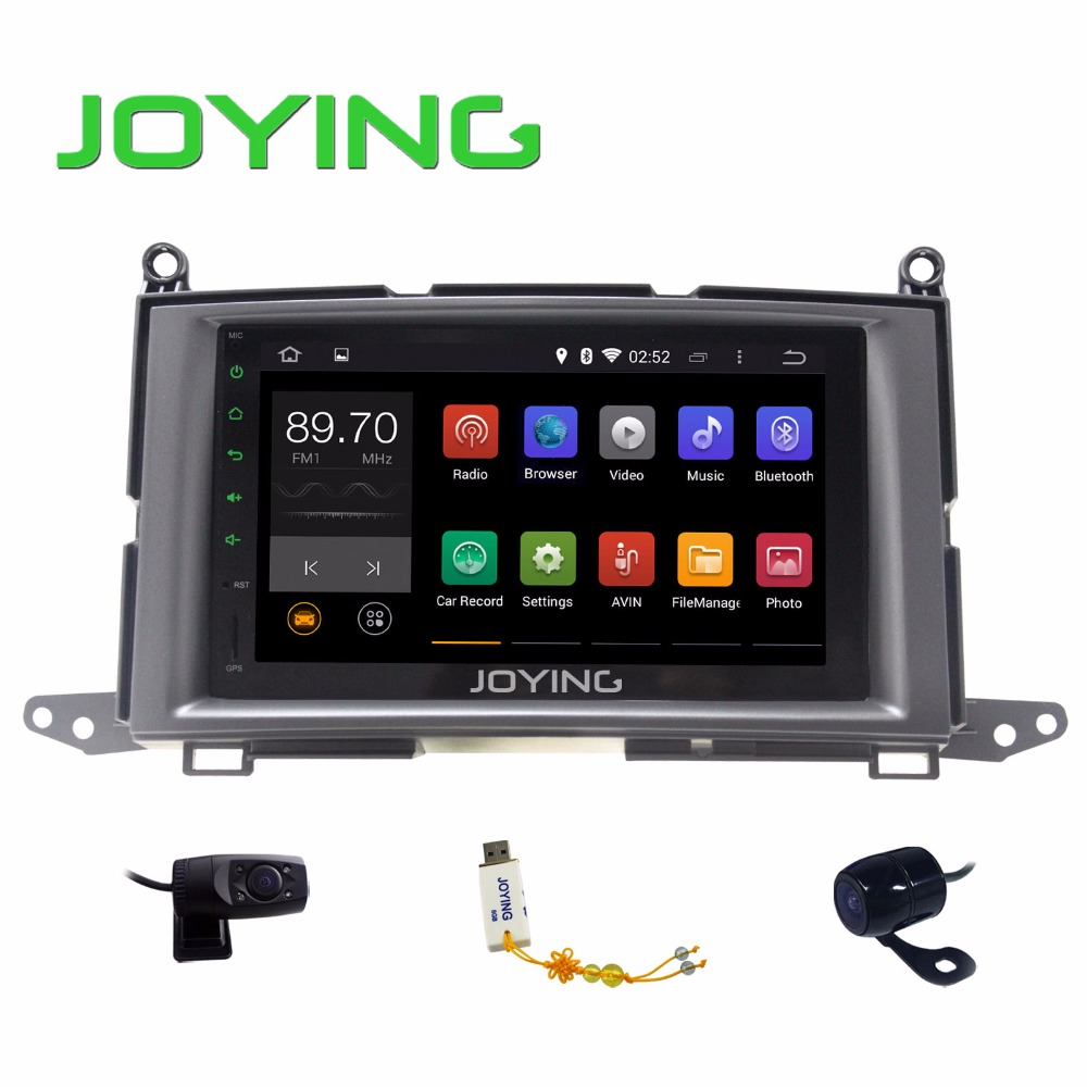 Joying 7 Quad Core 1024*600 HD Car GPS Navigation Android 4.4.4 Double 2 Din Head Unit For Toyota Venza 2008-2015 + DVR Camera<br><br>Aliexpress