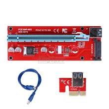 Buy USB 3.0 PCI-E PCI Express 1x 16x Extender Riser Card usb Cable 60cm PCIE Mining Card Adapter riser bitcoin mining device for $6.38 in AliExpress store