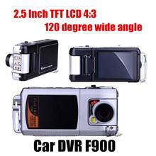 HOT Novatek 2.5 Inch TFT LCD HD F900 Novatek Car DVR 180 Degree Swing Lens Night Vision camera Video Recorder F900(China (Mainland))