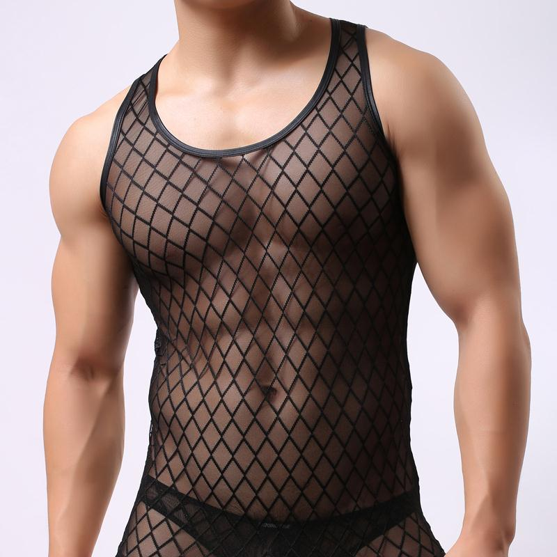 WH52-Brand-Sheer-Mens-Sexy-Undershirts-Tank-Tops-Men-Singlet-Transparent-Mesh-Vest-Net-Yarn-t