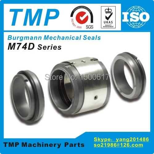 M74D-22 Burgmann Mechanical Seals (22x37x61mm)  M74-D Multiple springs Unbalanced Seals for Shaft Size 22mm Pumps(China (Mainland))
