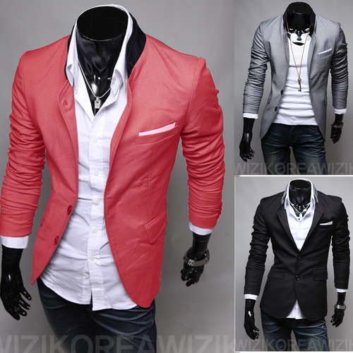 2014 mens Fashion Business Suit Western-style Clothes Long Sleeve Good Quality,Stand Collar,3 Colors,Hot Sales - C & S International Trade Co.,Ltd. store